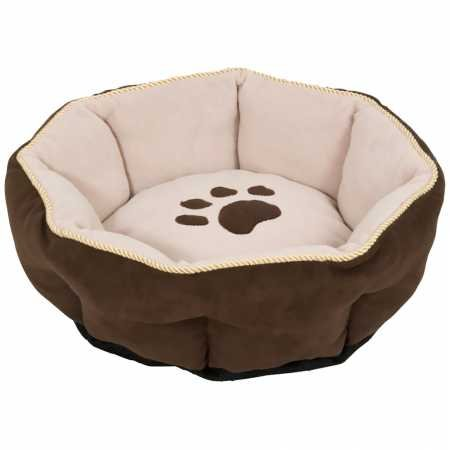 Aspen Pet Sculptured Round Bed Assorted 18 inches