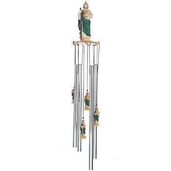 Amazon.com: 23 inch Wind Chime, parte superior redonda Santo ...