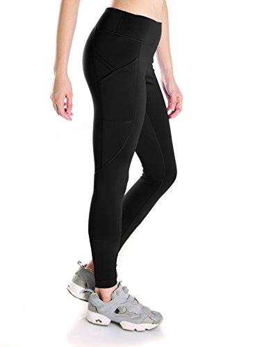 Yogipace Petite/Regular/Tall Length Women's Side Pockets Running Cycling Yoga Workout Leggings