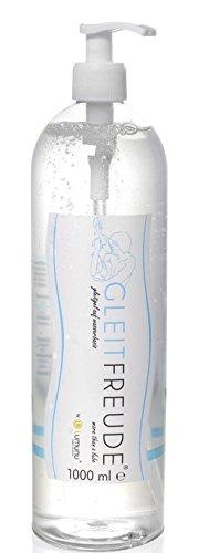 Deluxe Aqua Gleitgel (1 Liter) Lumunu Gleitfreude, Langzeitwirkung auf Wasserbasis