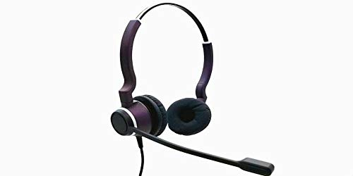 Chameleon Headsets Clearphonic Hd Sonorous Pro Binaural Headset W/Quick Disconnect and 2.5Mm Coiled Cord