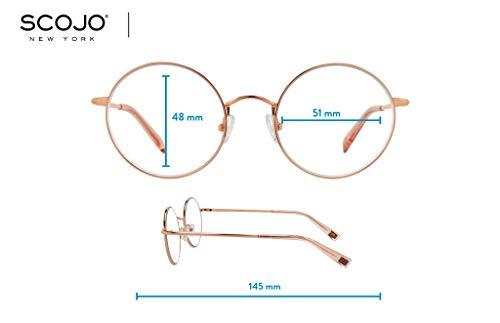 Biko – BluLite Glasses By Scojo New York – Rose Gold
