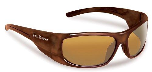 Flying Fisherman Action Angler 7738NTA Cape Horn Tortoise / Amber Sunglasses ()