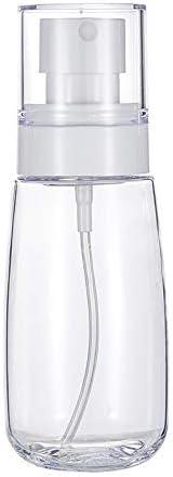 Botellas en spray para aceites esenciales 60 ml Botellas port/átiles de PET vac/ías 30 ml transparentes y rellenables con niebla fina para el cuidado de la piel en viajes 1 paquete