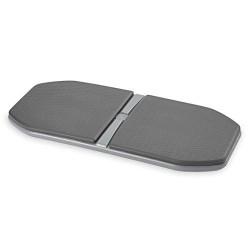 Gaiam Evolve Balance Board for Standing Desk Stability Rocker Wobble Board for Constant Movement to Increase Focus, Alternative to Standing Desk Anti Fatigue Mat