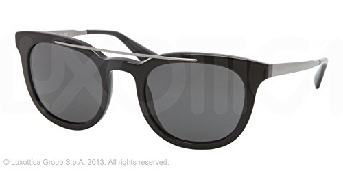 65454bac5ac4 Image Unavailable. Image not available for. Colour: Prada Men's 13p Black  Frame/Grey ...
