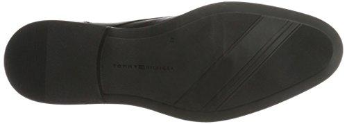 Tommy Hilfiger D2285aytona 2a, Stivali Desert Boots Uomo Nero (Black)
