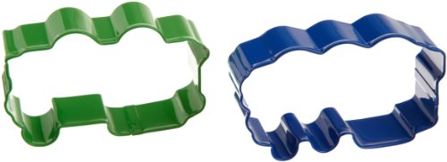 Wilton Thomas Cookie Cutter Set, 2-Piece (Wilton Thomas The Train Cake Pan Instructions)