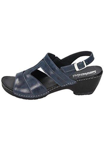 Comodo Damen Sandale Blau