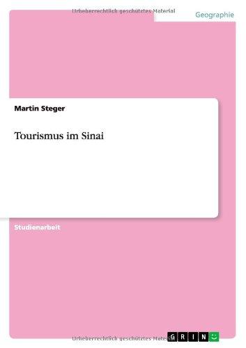 Read Online Tourismus im Sinai (German Edition) pdf