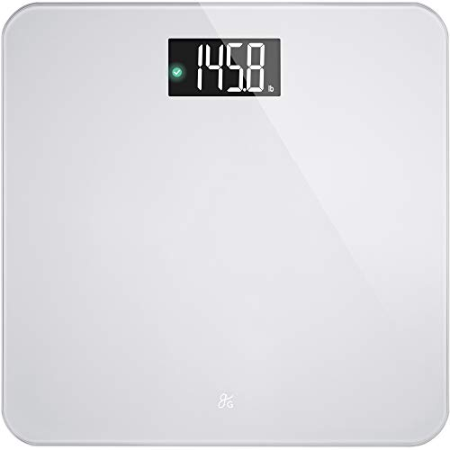 AccuCheck Digital Body Weight Scale from Greater Goods, Patent Pending Technology (Ash Grey)