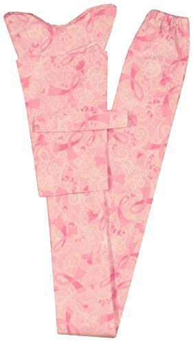 (Stethoscope Cover - Pink Ribbons & Hearts)