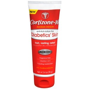 Cortizone-10 Anti-Itch for Diabetics Lotion 3.4 oz. ()