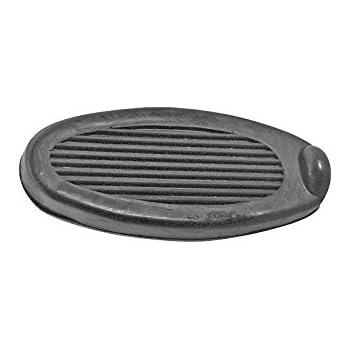 MACs Auto Parts 28-22112 Model A Ford Brake & Clutch Pedal Pad Set - Black Rubber