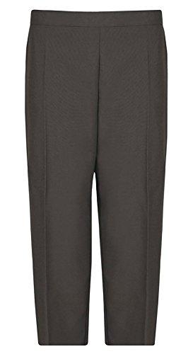Gris Et Real Pantalon Fashion Foncé 42 Life Ltd Femme Noir R7qCFH7