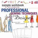 Sample Workbook to Accompany Professional Sewing Techniques for Designers (New) (09) by Cole, Julie Christine - Czachor, Sharon [Ring-bound (2009)] by Fairchild s, Ring-bound(2009)