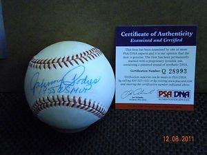 RALPH BRANCA BROOKLYN DODGERS AUTOGRAPHED BASEBALL PSA/DNA !! (Dodgers Baseball Autographed Brooklyn)