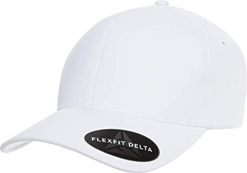 (Flexfit Delta Premium Fitted Ballcap | Seamless, Lightweight, Water Resistant Cap w/Hat Liner (Small/Medium))