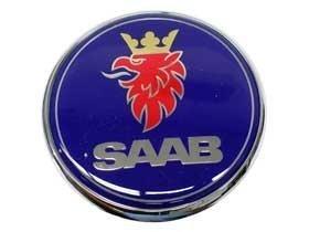 Saab Parts Genuine (Saab 93 95 (2001-2009) Engine Lid Emblem GENUINE oem)