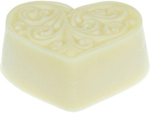 Greendoor Bodycremeherz Zitronen-Verbene, Body Butter 80g, Hautpflege mit BIO Sheabutter & BIO Kakaobutter, natürliche Inhaltsstoffe, Bodymelt, Liebesbeweis Geburtstags-Geschenk Naturkosmetik