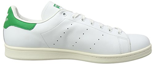 Baskets Basses Adidas Unisex S75074 Stan Smith Blanc-vert