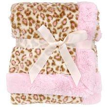 Koala Baby Full Size Blanket - Pink Leopard (Koala Baby Blanket Soft)