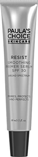 (Paula's Choice RESIST Anti-Aging Smoothing Face Primer Serum SPF 30, 1 oz Tube)