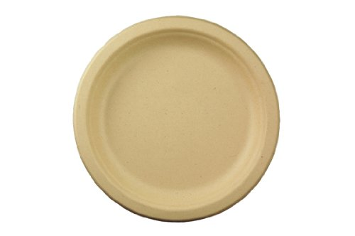 World-Centric-100-Biodegradable-100-Compostable-Bagasse-7-Plates-Case-of-1000