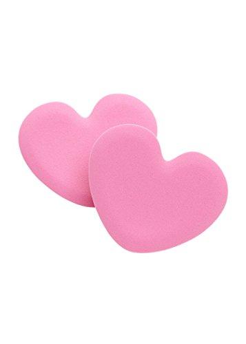 (Foot Petals Tip Toes Cushions Shoe Inserts , Heart)