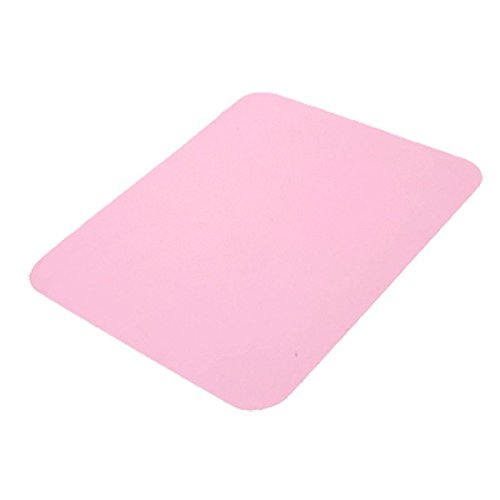 Uxcell Silicone Laptop Pc Anti-Slip Mouse Pad, Pink