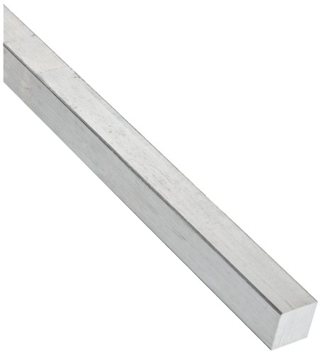 2024 Aluminum Rectangular Bar, Unpolished (Mill) Finish, 3/4