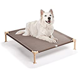 Hugs Pet Products Cool Cot Elevated Dog Bed, Medium