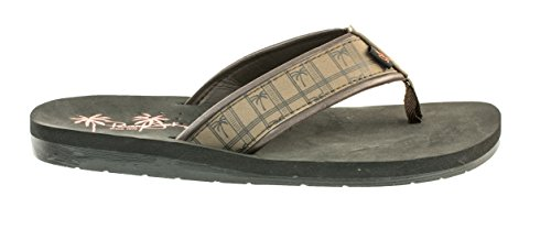 Size Sport Beach Panama Brown Time Sandals Jack Flop Print to 8 Flip Men's Casual Classic 13 xpYYgwqvA