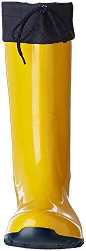 BOCKSTIEGEL - Sara - Mujer Botas De Goma - Azul amarillo