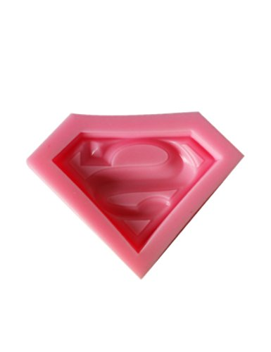 SHINA 3D Super Heroes Chocolate Soap Mold Cake Candy Baking Mould Baking Pan Tray Molds