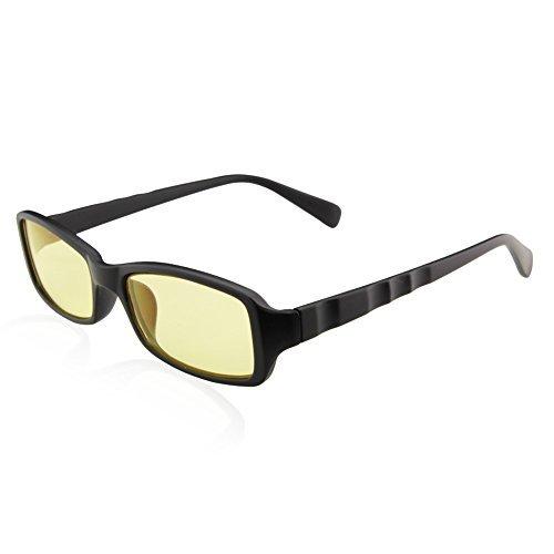 Duco Full Rim Ergonomic Advanced Video Computer Gaming Glasses 5005 Matte Black