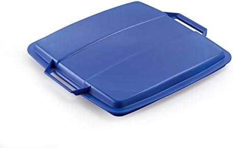 Durable 1800475040 Deckel Durabin Lid für 90 Liter, blau
