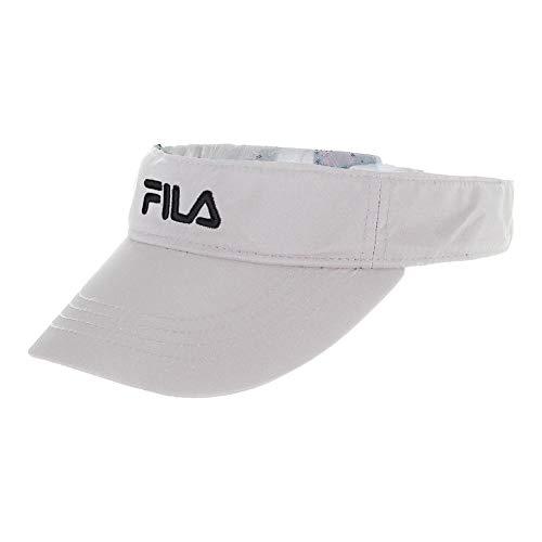 75c76a8c317 Fila Performance Runner Visor-One Size-Black at Amazon Men s Clothing store