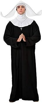 DISBACANAL Disfraz de Monja para Hombre - -, XL: Amazon.es ...