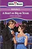 A Heart as Big as Texas by Emma Goldrick front cover