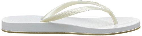 Ipanema Anatomica Brilliant III, Damen Zehentrenner Weiß (23997 White/White)
