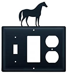 Esgo-68 Horse Switch Gfi Outlet Electric Cover