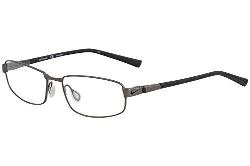 6056 Eyeglasses - Eyeglasses NIKE 6056 067 GUNMETAL BLACK