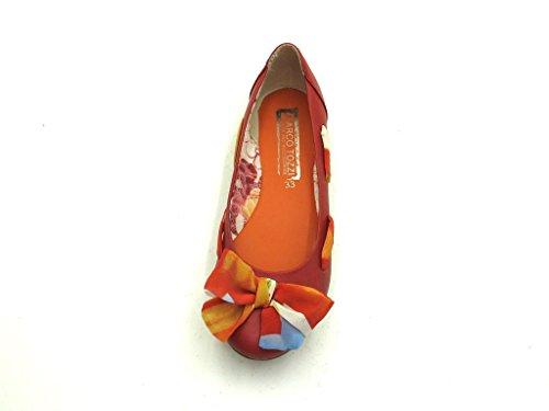 Marco Tozzi - Ballerina - Mädchenschuhe Rot