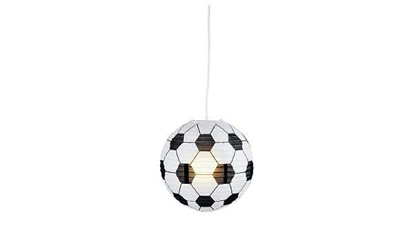 30 cm de balón de fútbol de papel para lámpara.: Amazon.es: Hogar