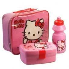 1e33b2c1ac HELLO KITTY LUNCH BAG KIT - INCLUDING WATER BOTTLE, SANWICH BOX ...