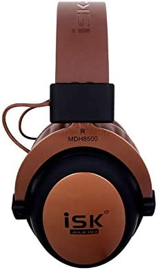 JUDY For Electronics WGJ ISK MDH8500 Fully Enclosed Dynamic Stereo Monitor Wired Headset Noise Canceling Studio Headphone