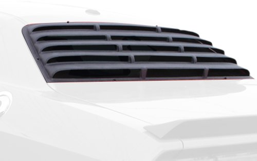 Rear Window Louvers - Willpak Industries 1564 ABS Car Louver for Chrysler/Dodge
