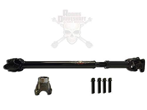 (JK Wrangler Front 1310 CV Driveshaft [Greasable U-Joints] )