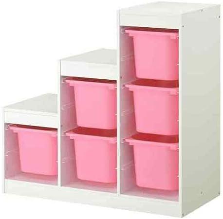 Combination Trofast Storage White Pink Amazon Co Uk Kitchen Home
